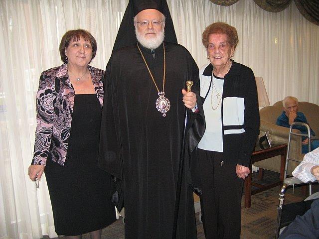 Metropolitan Methodios Cuts Vassilopita at Hellenic ...