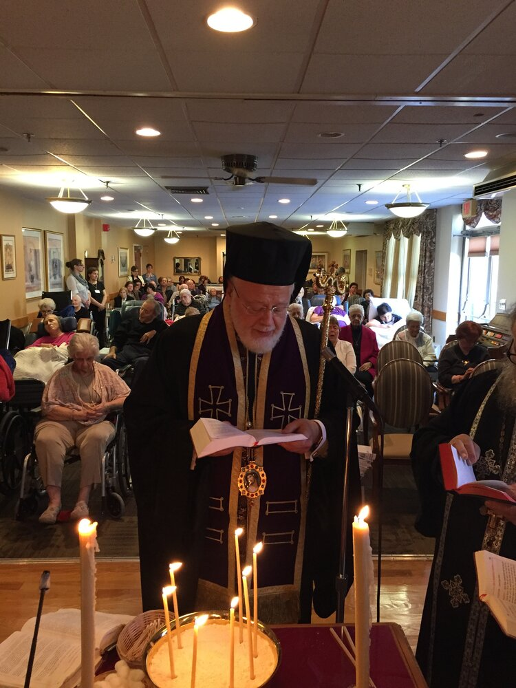 His Eminence Celebrate Holy Unction Service at Hellenic ...