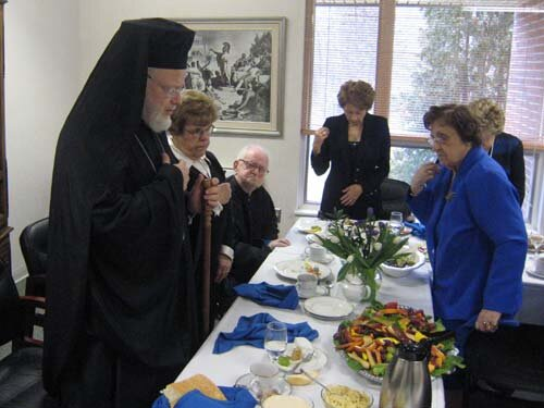 Holy Unction Service, Hellenic Nursing Home | Greek ...