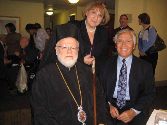 Metropolitan Methodios cuts the Vasilopita at the Hellenic ...
